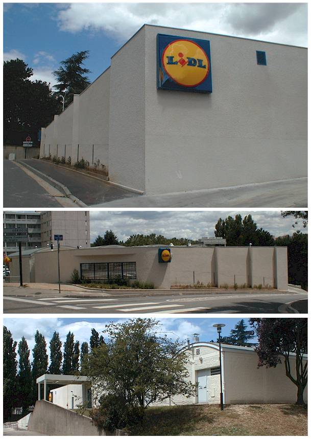 Extension du supermarché Lidl de Lyon-Vaise (69)