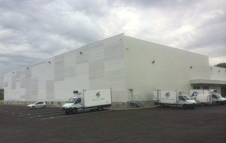 Bâtiment Broc Frais à Feyzin (69) - Extension bâtiment frigorifique