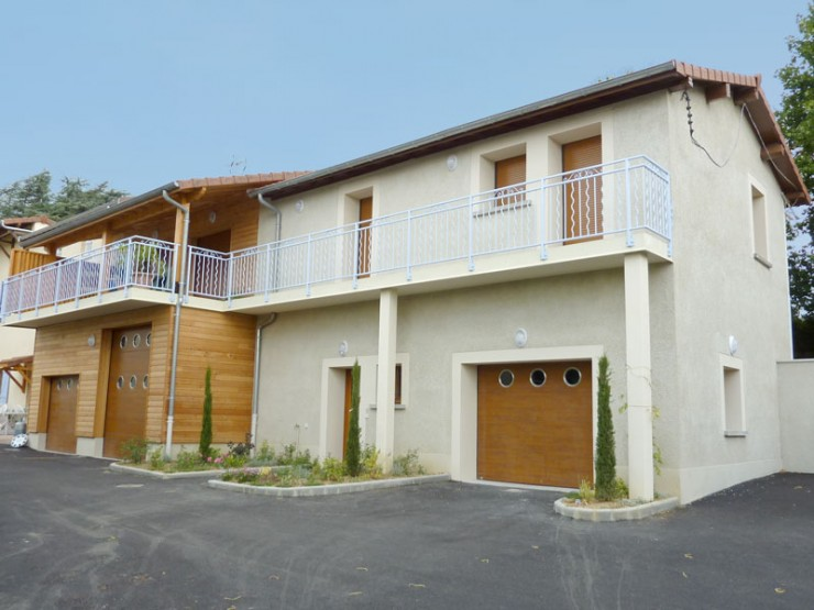 Maison Grange Basse - Serpaize (38)