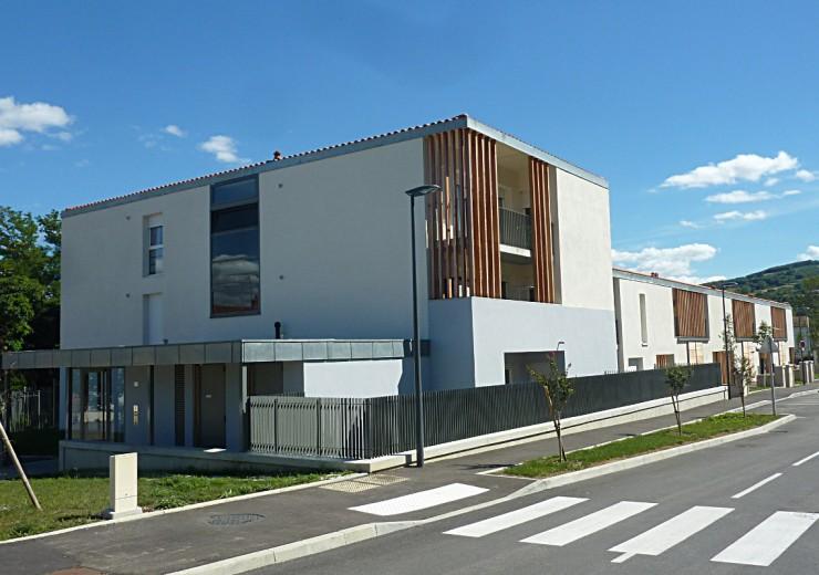 14 logements OPAC du Rhône - Loire sur Rhône (69)