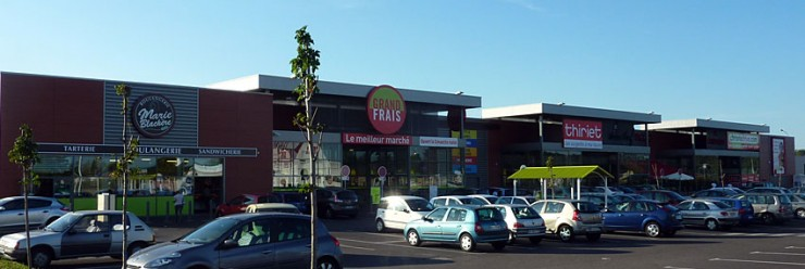 Zone commerciale - Mions (69)