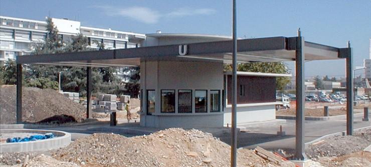 Poste de garde - Hôpital Neurologique Lyon (69)