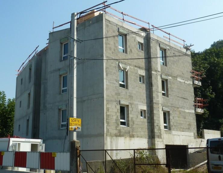Immeuble 9 logements Advivo - St Romain-en-Gal (69)