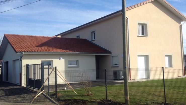 Deux maisons doubles - Royas (38)